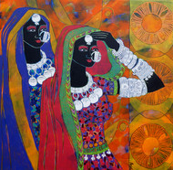 Ethnic Serendipity 61 by Anuradha Thakur, , , Brown color