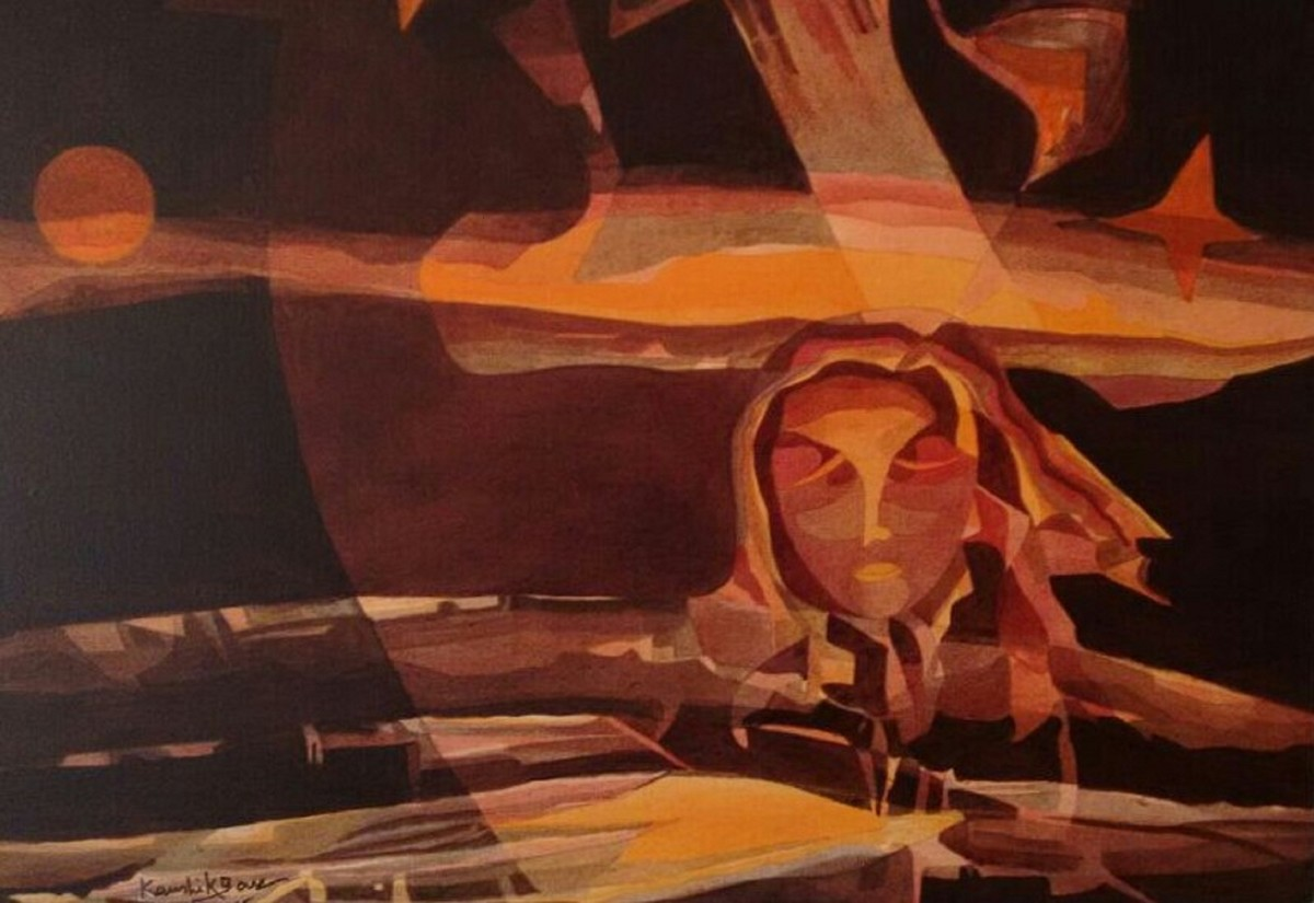 Dream Digital Print by Kaushik Bose,Expressionism