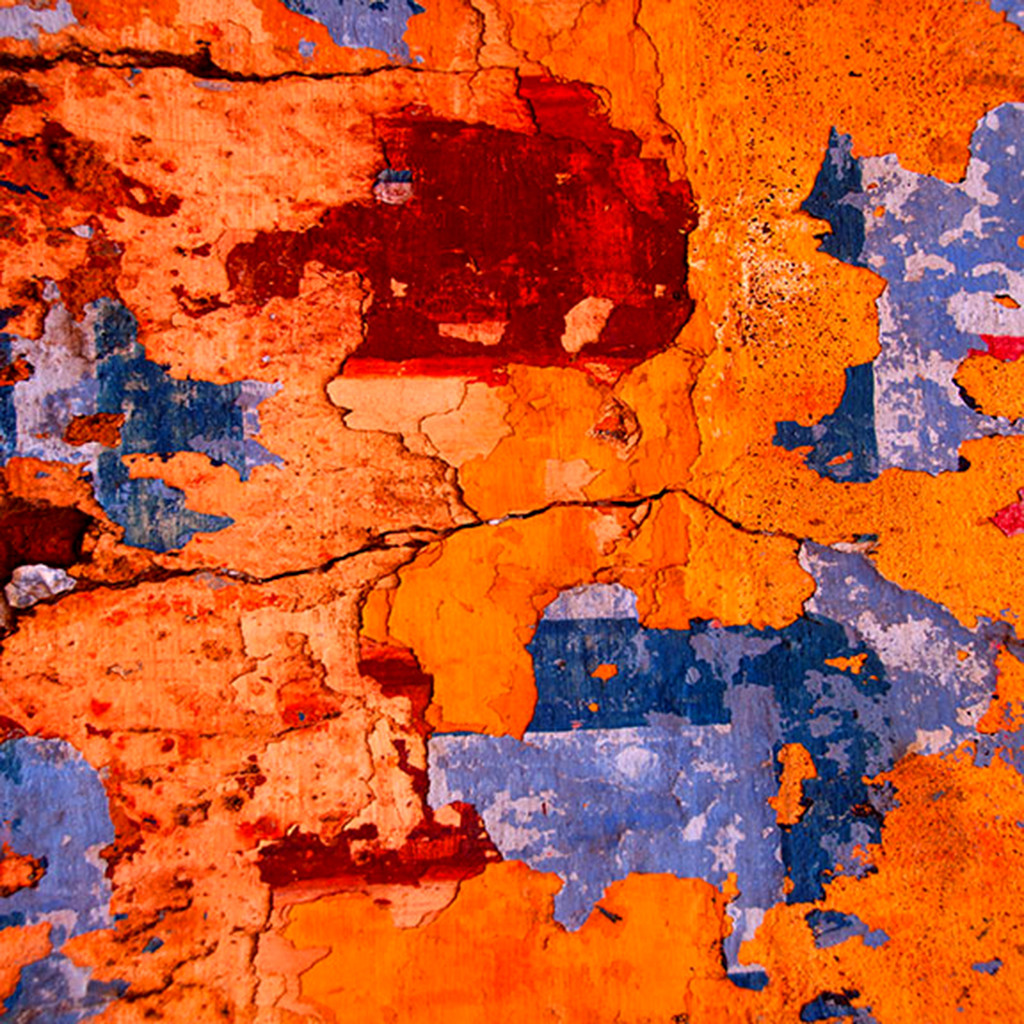 Abstract 04 by CR Shelare, Image Photograph, Digital Print on Canvas, Orange color