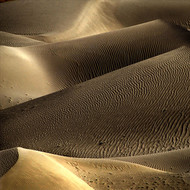 Lusty Sand by CR Shelare, Image Photograph, Digital Print on Canvas, Brown color
