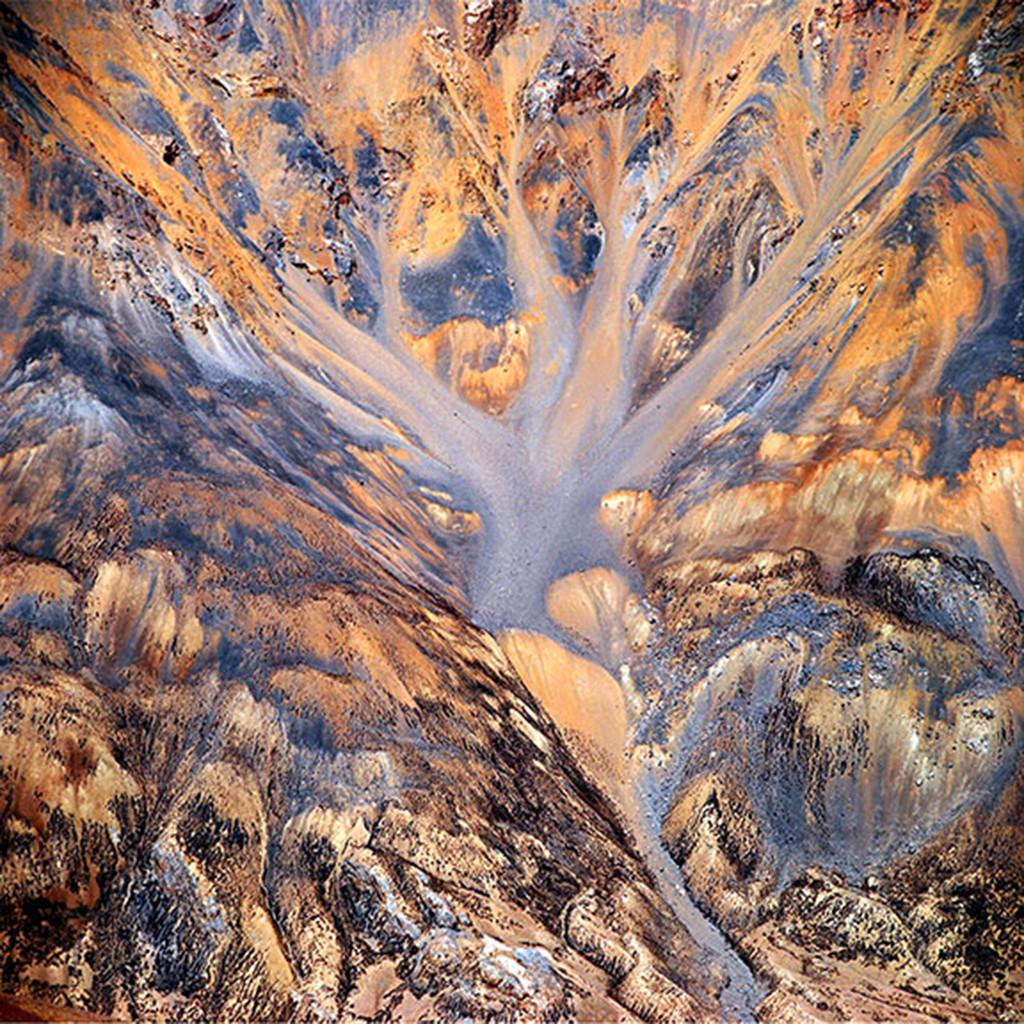 Sandscape 03 by CR Shelare, Image Photograph, Digital Print on Canvas, Brown color
