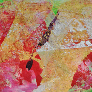 Nature I by Anand Prakash, Abstract Painting, Acrylic on Canvas, Brown color