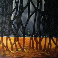 Untitled acrylic        on canvas       60 x 48                       %28 83 000 %29