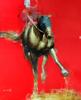 The Charge by Aditya Shirke, , , Red color
