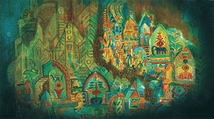 Indus City Print By Dr. Bharati Mate