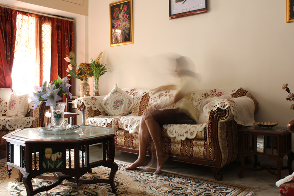 Absence 2 by Manmeet Devgun, Image Photography, Digital Print on Canvas, Brown color