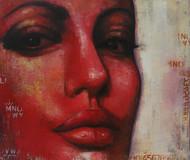 Expression Series Digital Print by Anindya Mukherjee,Realism