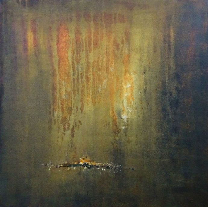 My Golden Time of Past Digital Print by Poonam Rana,Abstract