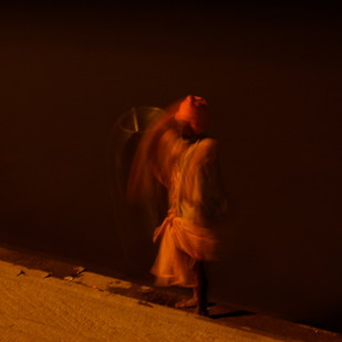 Untitled 2 by Puja Bahri, Image Photography, Digital Print on Paper, Brown color