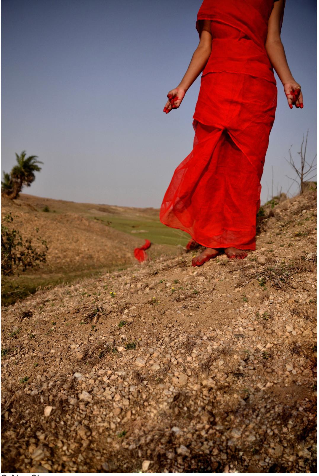 Avtaran - 6 by B Ajay Sharma, Image Photography, Digital Print on Paper, Brown color