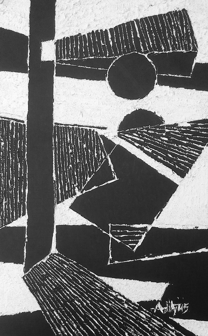 Shapes in Life Digital Print by Aditya Dev,Conceptual