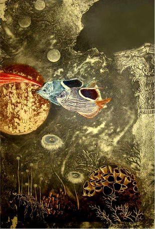Aqua Life 2 Artwork By Jyotirmay Dalapati