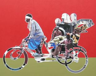 Untitled 22 Digital Print by Sanjay Verma,Pop Art