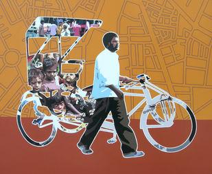 Untitled 24 Digital Print by Sanjay Verma,Pop Art