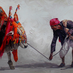 Boom Boom Cow 02 by Iruvan Karunakaran, , , Gray color