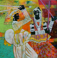 Rhythm Of The Seasons 24 by Anuradha Thakur, , , Brown color