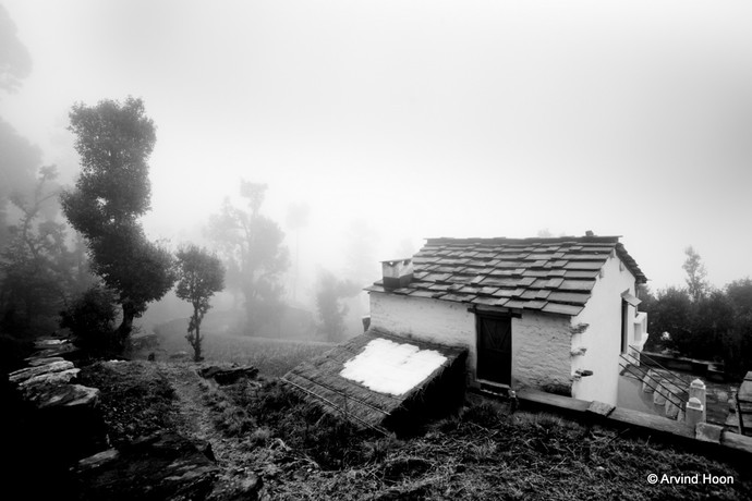 Misty by Arvind Hoon, Image Photography, Digital Print on Paper, Gray color