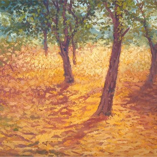 Good Afternoon by Fareed Ahmed, Impressionism , Oil on Canvas, Brown color