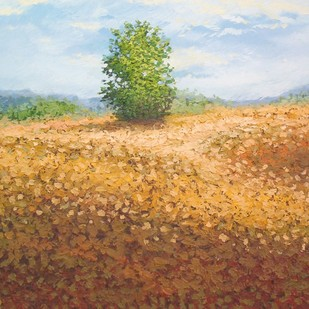 Bush by Fareed Ahmed, Impressionism , Oil on Canvas, Brown color