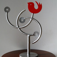 Title  sunrise 2    artist   romicon revola   medium   stainless steel   size   11 inches x 9 inches x 4 inches    year   2012