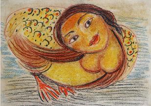 Kinnari 3 Artwork By Gogi Saroj Pal