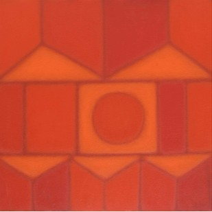 Untitled by Sandip More, Geometrical Painting, Acrylic on Canvas,