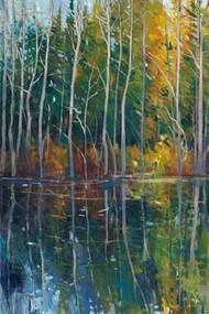 Pine Reflection II Digital Print by O'Toole, Tim,Decorative, Impressionism