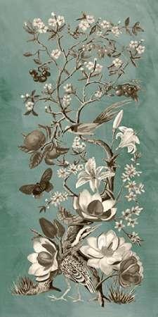 Chinoiserie Patina II Digital Print by McCavitt, Naomi,Decorative