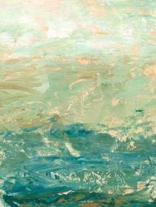 Ocean Horizon Digital Print by Harper, Ethan,Abstract