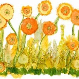 Sunlit Poppies II Digital Print by Baynes, Cheryl,Decorative
