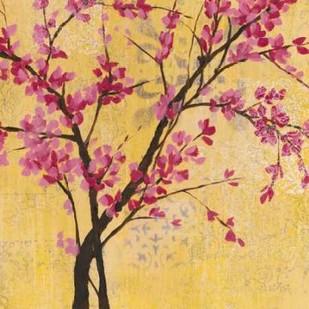 Fuchsia Blossoms II Digital Print by Goldberger, Jennifer,Decorative