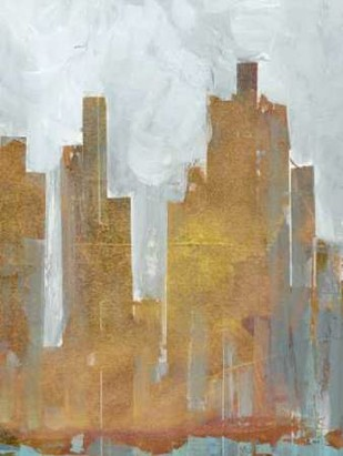 Urban Dawn II Digital Print by Fagalde, Jarman,Impressionism