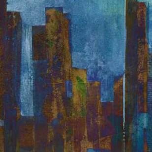 Urban Dusk I Digital Print by Fagalde, Jarman,Impressionism