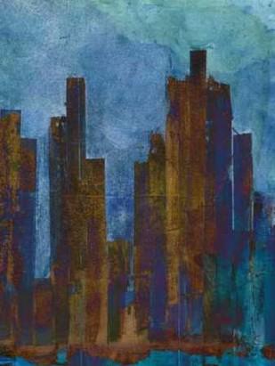 Urban Dusk II Digital Print by Fagalde, Jarman,Impressionism
