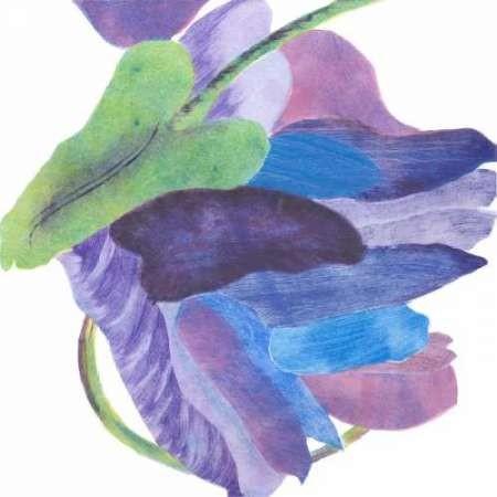 Sideways Indigo II Digital Print by Roth, Carolyn,Impressionism