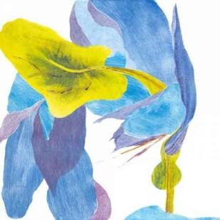 Surprise Indigo III Digital Print by Roth, Carolyn,Impressionism