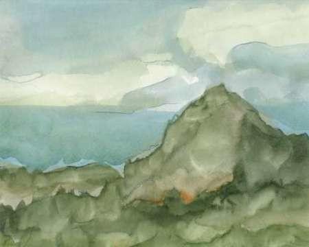Plein Air Mountain View I By Artist Harper Ethan Impressionism