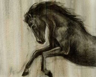 Dynamic Stallion II Digital Print by Harper, Ethan,Decorative
