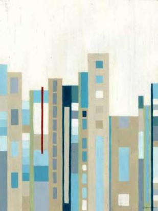 Broadway Horizon I Digital Print by Lam, Vanna,Geometrical