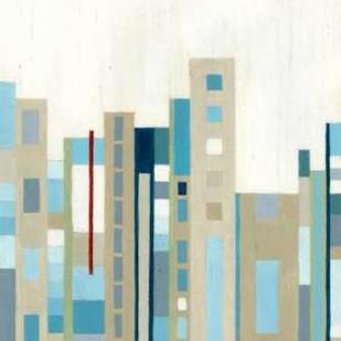 Broadway Horizon I Digital Print by Lam, Vanna,Geometrical
