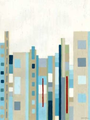 Broadway Horizon II Digital Print by Lam, Vanna,Geometrical