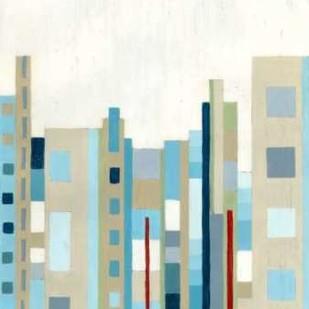 Broadway Horizon II Digital Print by Lam, Vanna,Geometrical