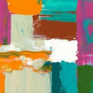 Neon City III Digital Print by Goldberger, Jennifer,Abstract