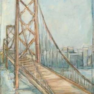 Metropolitan Bridge I Digital Print by Harper, Ethan,Impressionism