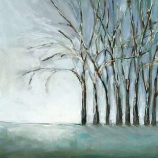 Tree in Winter Digital Print by Long, Christina,Impressionism