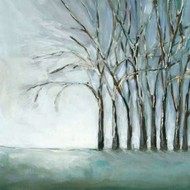 Tree in Winter Digital Print by Long, Christina,Impressionism
