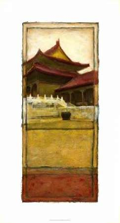Oriental Panel I Digital Print by Unknown,Decorative