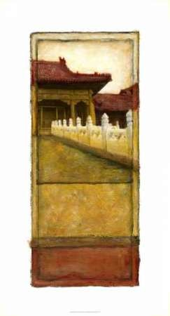 Oriental Panel II Digital Print by Unknown,Decorative