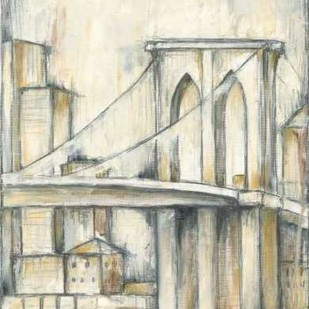 Urban Bridgescape I Digital Print by Goldberger, Jennifer,Decorative