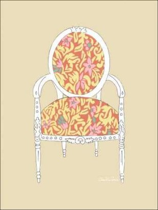 Decorative Chair I Digital Print by Zarris, Chariklia,Decorative